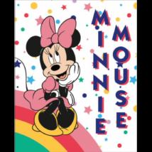 Minnie egér csíkos polár pléd, takaró