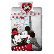 Minnie és Mickey egér ágyneműhuzat Párizs