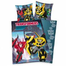 transformers ágynemű kék pamut