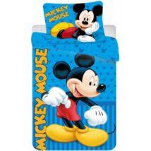 Mickey egér ágyneműhuzat kék csíkos