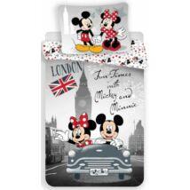 Minnie és Mickey egér ágyneműhuzat Londonban szürke
