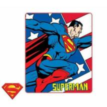superman polár pléd, takaró