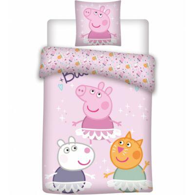 peppa malac ovis ágyneműhuzat rózsaszín