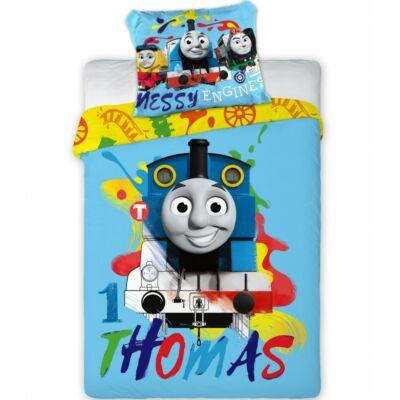 Thomas mintájú ágyneműhuzat gyermekeknek