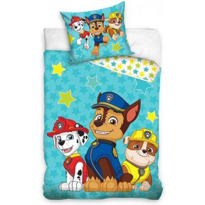 Mancs Őrjárat mintájú ágyneműhuzat gyermekeknek