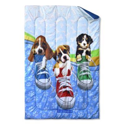 Kutya mintás ágytakaró