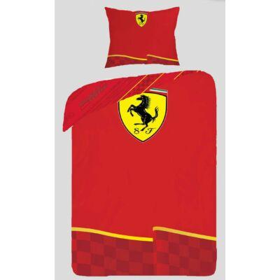 Ferrari mintás piros csapatjel ágyneműhuzat forma 1 ágynemű