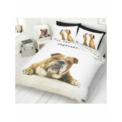 bulldog kutyás ágyneműhuzat