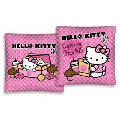 hello kitty mintás sütis kispárnahuzat, párnahuzat