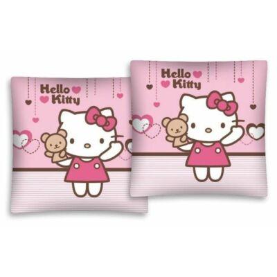 hello kitty mintás rózsaszín kispárnahuzat, párnahuzat