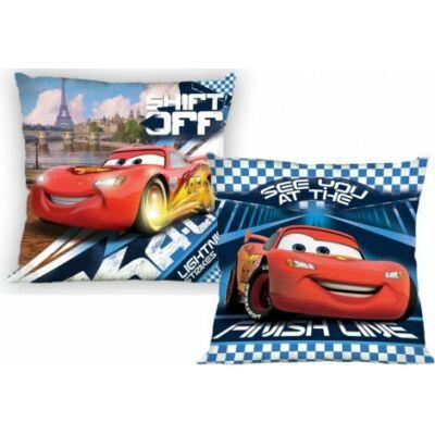 verdák, cars mintás kék kispárnahuzat, cars párnahuzat