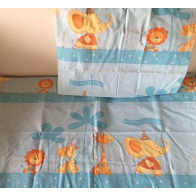 szafari mintás ovis gyerek ágyneműhuzat. Ágyneműhuzat gyerekeknek pamut