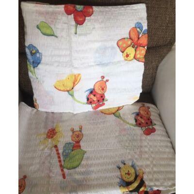 katca mintás ovis gyerek ágyneműhuzat. Ágyneműhuzat gyerekeknek krepp
