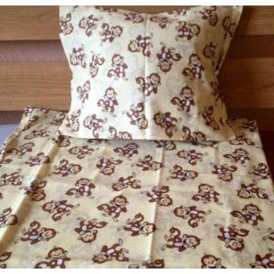 majom mintás ovis gyerek ágyneműhuzat. Ágyneműhuzat gyerekeknek pamut
