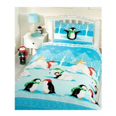 pingvines ovis,gyerek ágyneműhuzat, dinó ágynemű