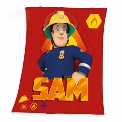 sam a tűzoltó polár pléd, takaró