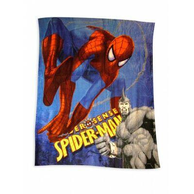 pókember mintás plüss pléd, takaró