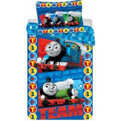 thomas a vonat ágyneműhuzat kék pamut