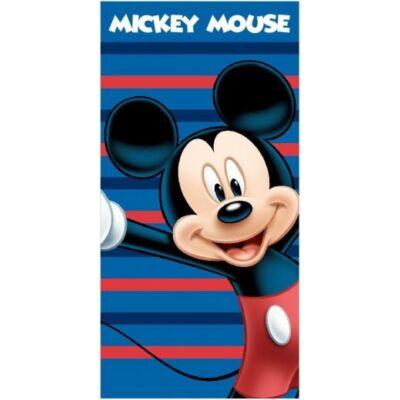 Mickey egér fürdőlepedő csíkos kék