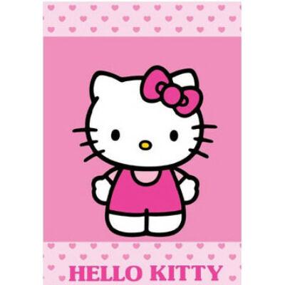 hello kitty rózsaszín kéztörlő
