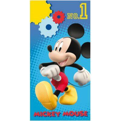 Mickey egér kék fürdőlepedő