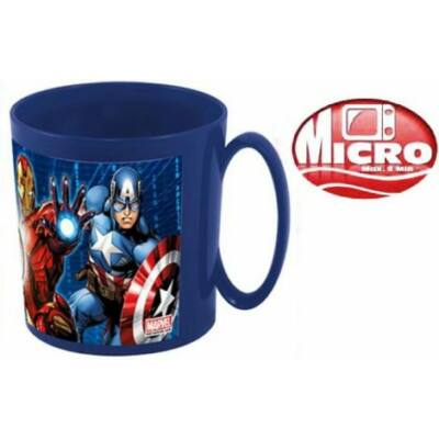 Avengersvműanyag bögre
