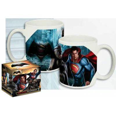batman vs superman porcelán bögre