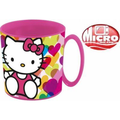 Hello Kitty műanyag bögre