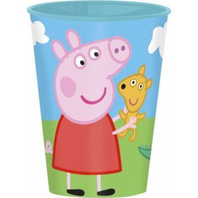 peppa műanyag pohár