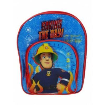 sam a tűzoltó ovis kék hátizsák