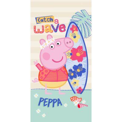 Peppa malac fürdőlepedő pamut rózsaszín