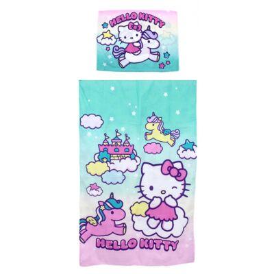 Hello Kitty mintájú ágyneműhuzat gyermekeknek
