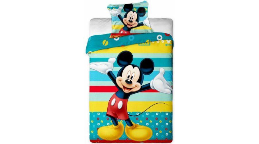 Mickey egér ágyneműhuzat vidám csíkos 9e806ff08a
