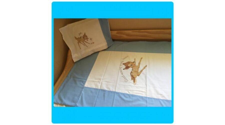 Bambi bébi gyerek ágyneműhuzat c26e6cc331