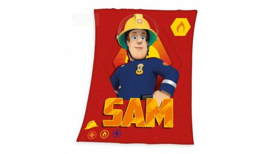 Sam a tűzoltó polár takaró pléd gyerekeknek puha anyagból 3c1f932fe7