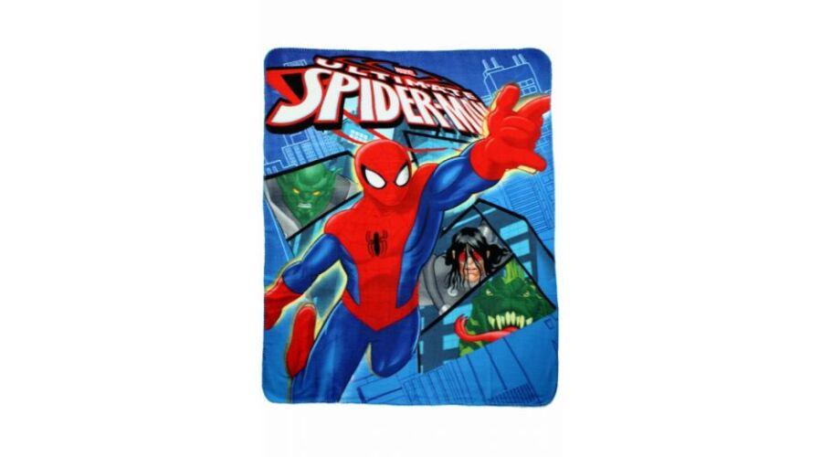 pókember polár takaró pléd gyerekeknek puha anyagból kék kalózos 2d66ee3f39