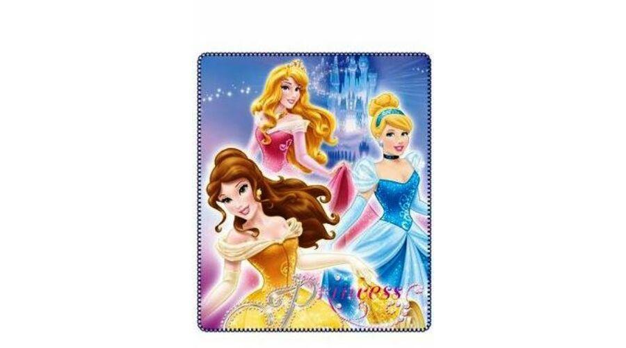 Hercegnők polár takaró pléd gyerekeknek puha anyagból kék f61296ff2d