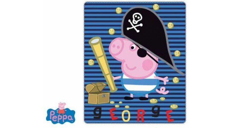 Peppa malac cskos polár takaró · Peppa malac kalózos kék polár pléd ... 6937ce03a5