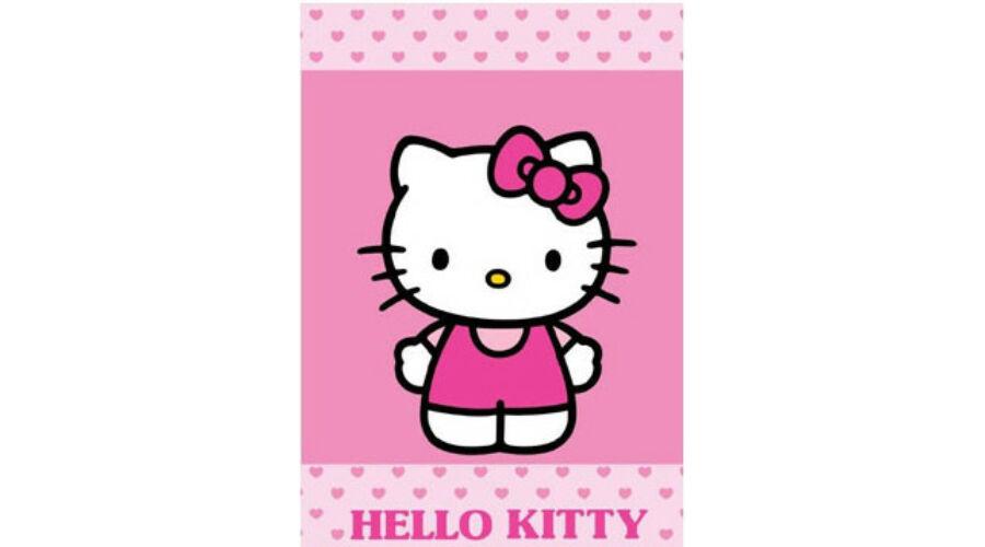 Hello kitty kéztörlő lányoknak oviba 4337fa46a9