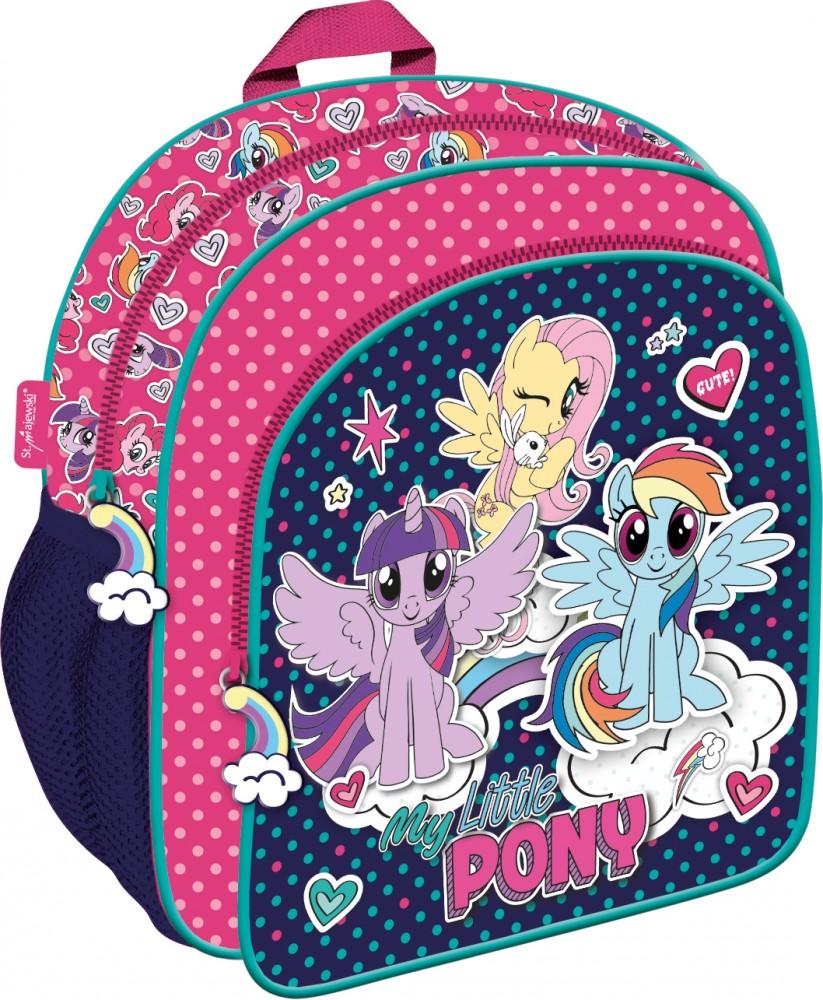 7301124b5b4d Én kicsi pónim hátizsák ovisoknak rózsaszínben színben állítható vállpánttal